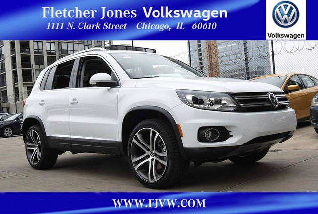 New Volkswagen Tiguan Sel Suv In Chicago Fletcher